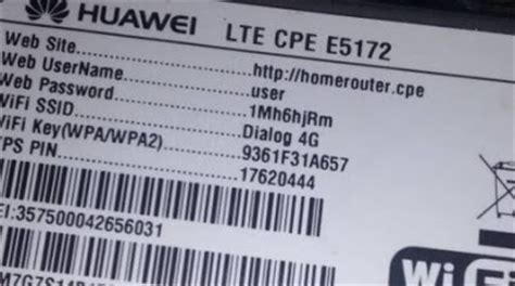 AI: How to Set new WiFi password For Dialog 4G WiFi router
