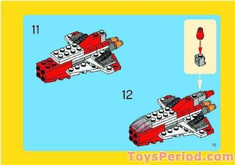 LEGO 6741 Mini Jet Set Parts Inventory and Instructions