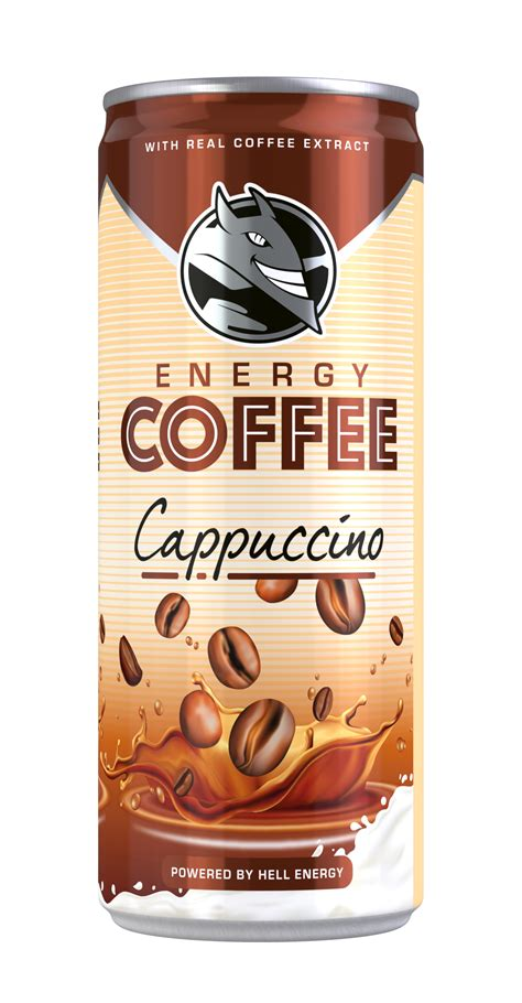 HELL ENERGY DRINK Webshop - Energy Coffee Cappuccino