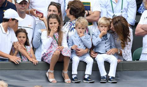 Roger Federer tells his own children how they can become