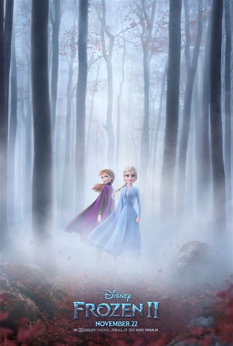 Frozen 2 Poster Revealed, Trailer Coming Tuesday