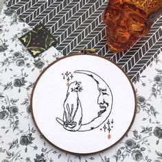 Pin by Jeanne Muckey on Embroidery   Halloween embroidery