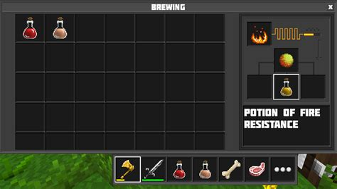 Potion of Fire Resistance | Planet of Cubes Wiki | Fandom