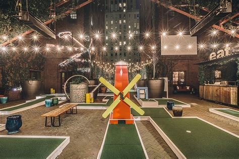 Hudson Hotel is opening an awesome mini-golf course on