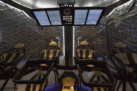 Look How Much Nicer The Interior Of Elon's Musk Space