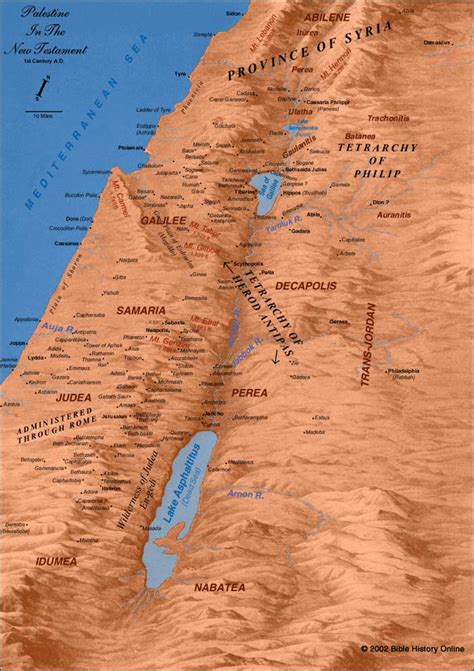 Cities of New Testament Israel