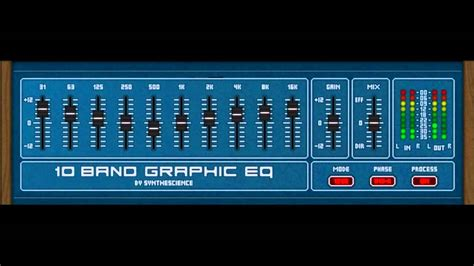 10 Band Graphic EQ (acoustic guitar) by Synthescience