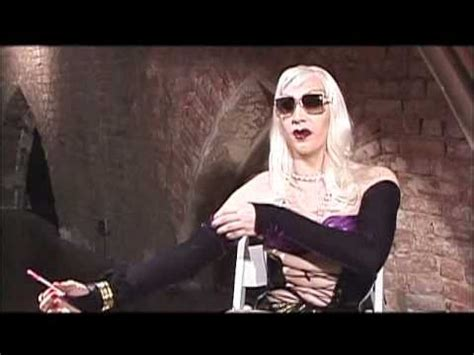 Marilyn Manson on the Set of Party Monster - YouTube