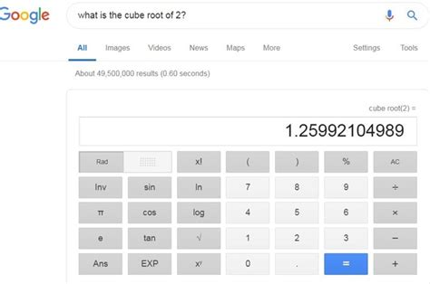 How I calculate the cube root of 2? - Quora