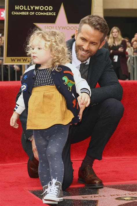 Ryan Reynolds' and Blake Lively's daughters first public