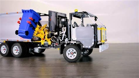LEGO TECHNIC Electric Recycling Truck - YouTube