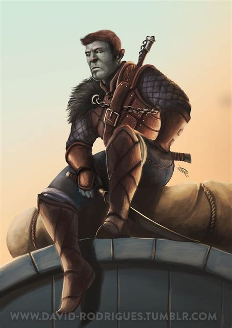 M half orc fighter ranger rogue in 2020 | Dungeons