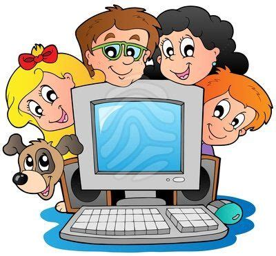 computer clipart for kids (With images) | Kids computer