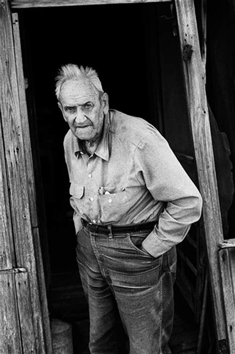Retired farmer Richard Youse at age 87   Photograph by