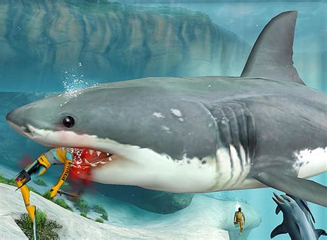 Jaws – Unleashed – [hungame