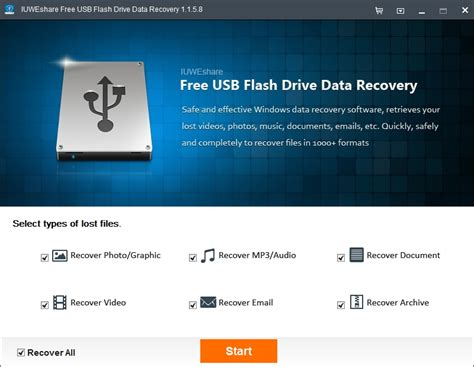 Free USB Flash Drive Data Recovery Free Download