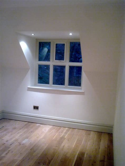 Professional finish on bare timber using water-based paint