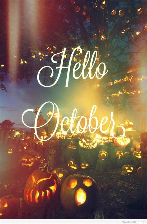 Hello October Images, Hello October Wallpapers