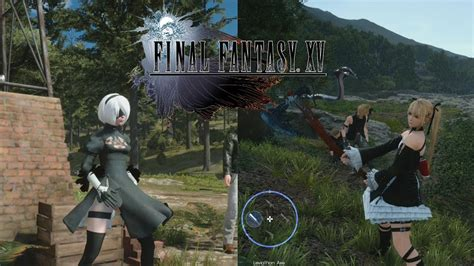 Final Fantasy XV Windows Edition MODs Character Swapping