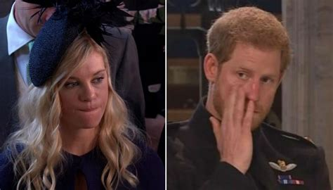 Prince Harry and ex-girlfriend Chelsy Davy's tearful pre