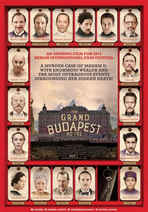 The Grand Budapest Hotel Movie Poster (#17 of 17) - IMP Awards
