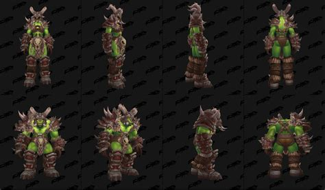 """The new """"Orc Clan"""" armor looks AWESOME, especially with"""