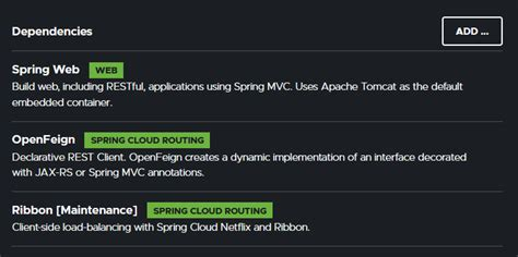 Building a REST Client with Spring Cloud OpenFeign and