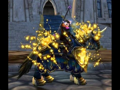 CATACLYSM NEW MODEL OF PALADIN MOUNT - YouTube