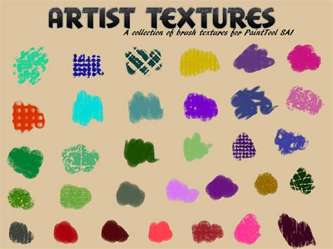 25+ Best Free Paint Tool SAI Brushes & Textures