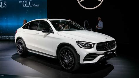2020 Mercedes-Benz GLC Coupe Gets Refreshed Face, More