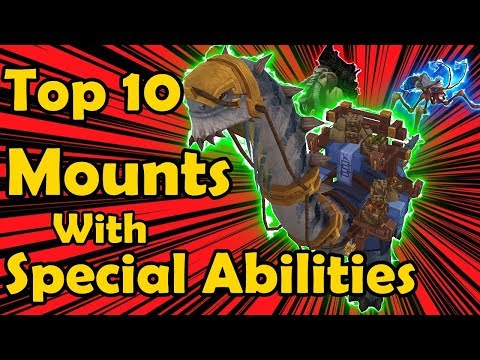 Top 10: Easiest Mounts to get in World of Warcraft - YouTube