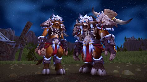 Rise Up and Stand Tall with New Tauren and Gnome Heritage