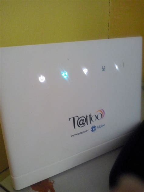How to change Wifi password and SSID in Globe Tattoo 4G