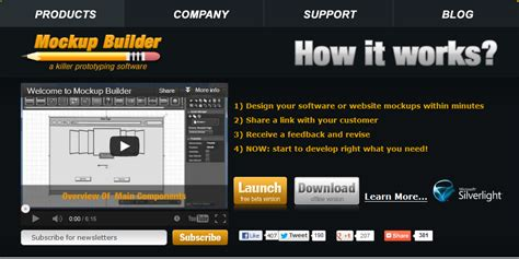 38 Free and Premium Wireframe and Mockup Applications for