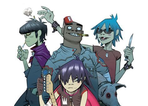 Gorillaz - Culture, Hobby, and others